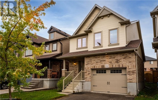 541 STARWOOD Drive, Guelph, Ontario N1E0L8, 4 Bedrooms Bedrooms, ,4 BathroomsBathrooms,Single Family,For Sale,STARWOOD,40179135